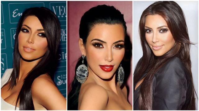 Kim Kardashian'ın göz makyajı nasıl yapılır?