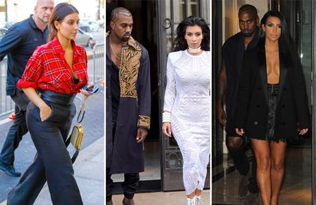 Kim Kardashian'ın sıra dışı stili