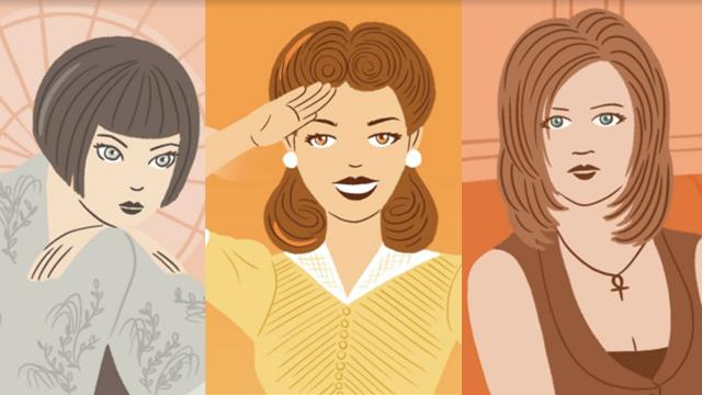 20'nci yüzyıla damgasını vuran saç modelleri