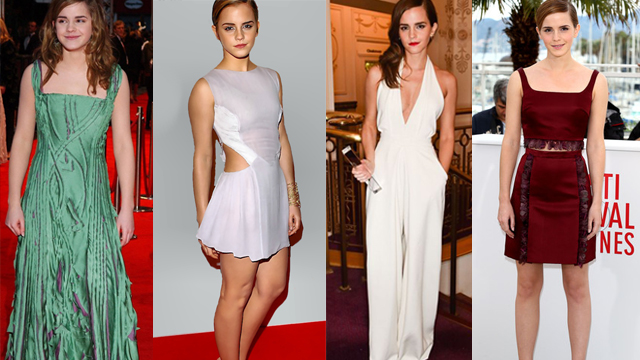 Dünden bugüne Emma Watson stili
