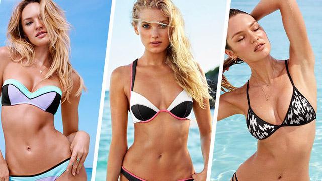 Victoria's Secret bikini modelleriyle yine büyülüyor