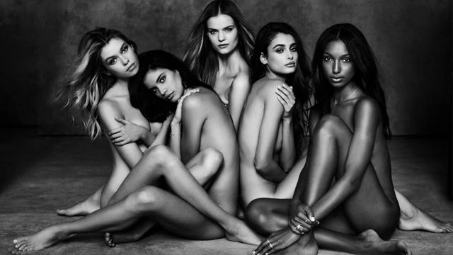 Victoria's Secret yeni melekleri çıplak tanıttı