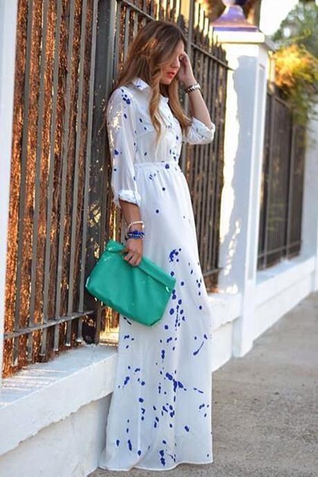 Uzun elbise-10