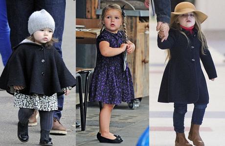 Minik moda ikonu Harper Beckham