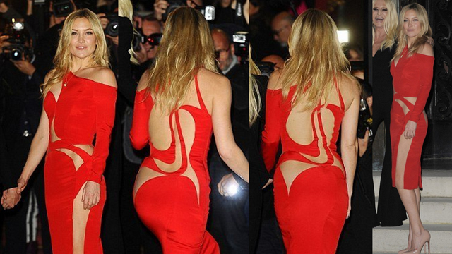 Kate Hudson'ın Versace şıklığı