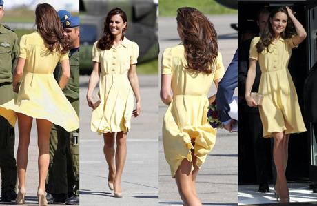 Kate Middleton'a iç çamaşırı şoku!