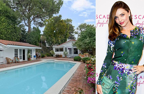 Miranda Kerr'in muhteşem evi