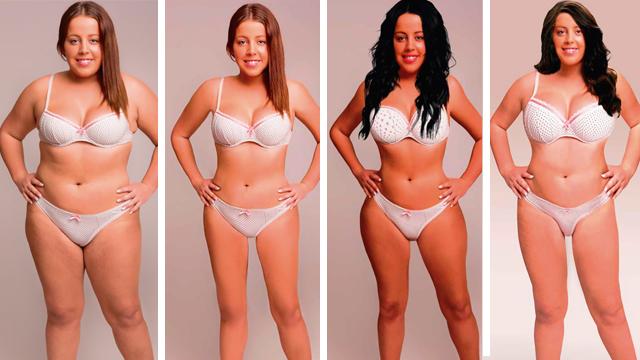 18 ülke, 18 farklı ideal kadın vücudu