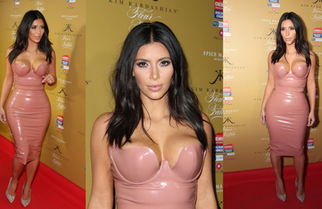Kim Kardashian'ın nude stili
