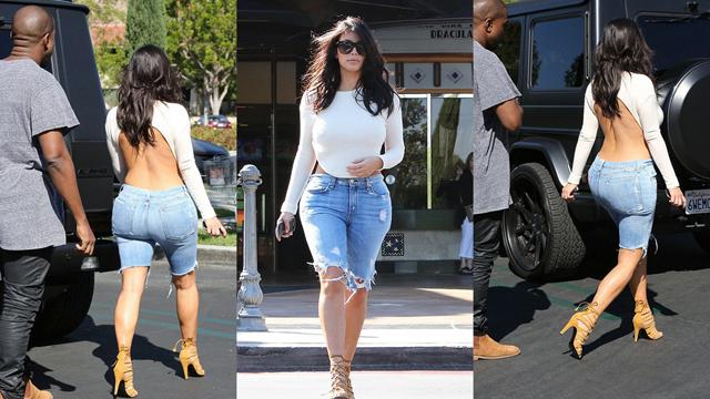 Bambaşka bir Kim Kardashian