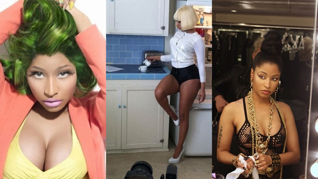 Nicki Minaj'ın Twitter fotoğrafları
