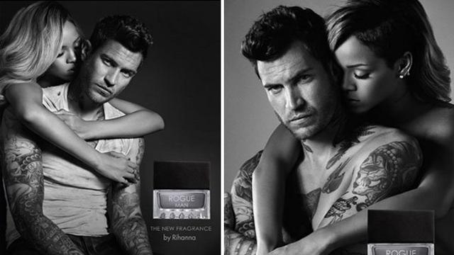 Rihanna erkek parfümüyle sarstı!