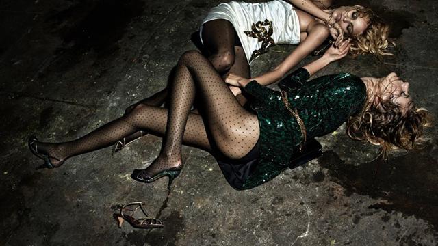 Modeller sarhoş olunca...