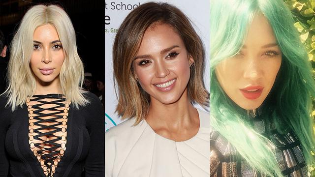 Ünlülerin şaşırtıcı saç değişimleri