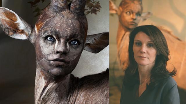 Kate Clark'ın dünyası: Yarı insan, yarı hayvan