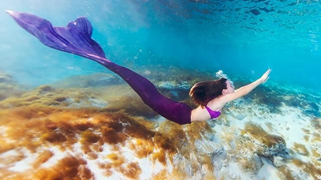 Deniz kızı masalları gerçek oldu!