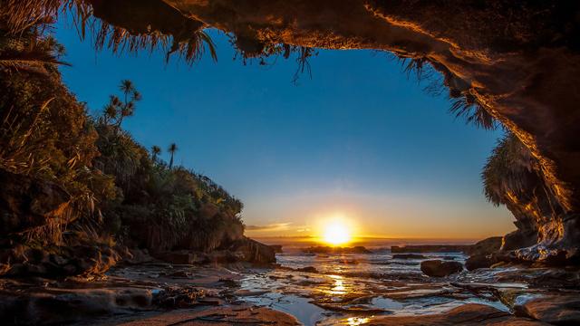 Cennetten bir köşe: Güney Adası