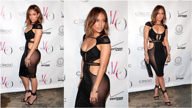Jennifer Lopez'den seksi doğum günü kutlaması