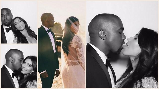 Kim Kardashian'dan evlilik yıl dönümü partisi!