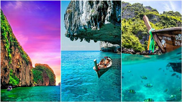Cennetten bir köşe: Koh Phi Phi Adaları