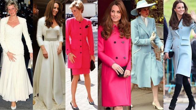 Düşes Kate Middleton'ın stili çalıntı çıktı!