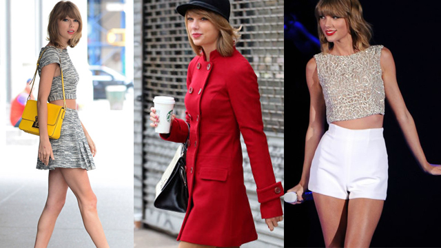 Taylor Swift'in en güzel 50 hâli
