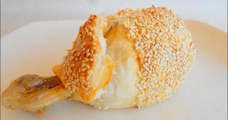 Milföyde Peynir Soslu Tavuk