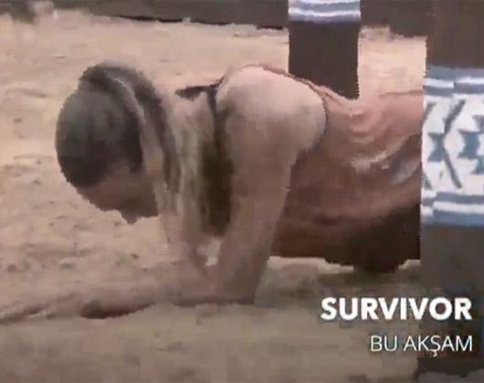 Survivor'da gönüllüler takımında Damla Can sakatlandı