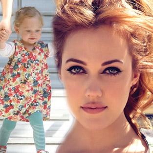 Meryem Uzerli'nin kızı Lara ilk kez görüntülendi