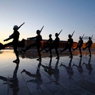 Fotoğraf sanatçıları Anıtkabir'de buluştu