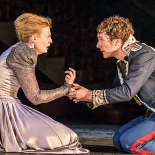Londra'da sergilenen Hamlet Ankara'da izlendi