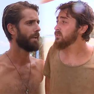 Survivor'da Serkay ile Semih yine tartıştı