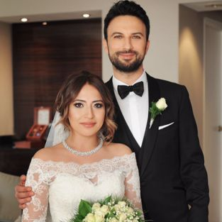 Tarkan ve Pınar Dilek, Almanya'da düğün yaptı