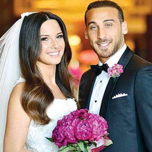 Cenk Tosun ile Ece Akgürbüz evlendi