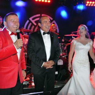 Mustafa Topaloğlu oğlu Çağlayan'ı evlendirdi