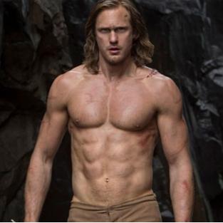 Tarzan olmak için aylarca hamburger yedi