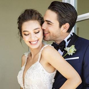 Neslihan Atagül ve Kadir Doğulu evlendi