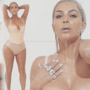 Kim Kardashian zayıflamaya devam ediyor