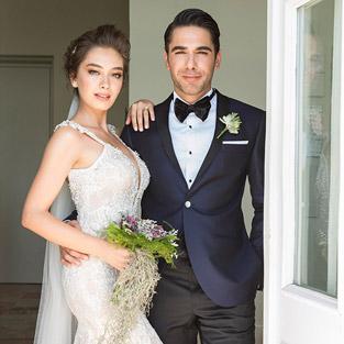 Burak Özçivit rol arkadaşı Neslihan Atagül'ün düğününe katılmadı