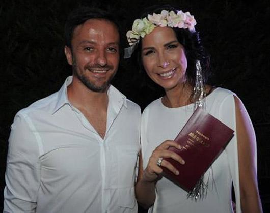 Tuğba Özerk, Altan Nuh ile evlendi
