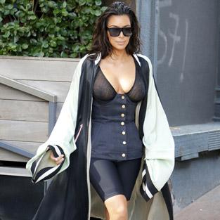 Kim Kardashian bu ne hal?