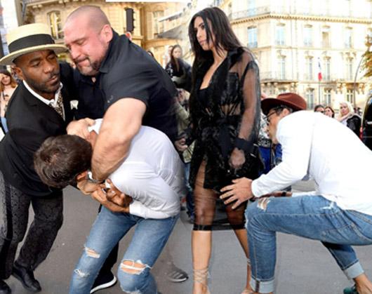 Kim Kardashian Paris'te Vitalii Sediuk tarafından tacize uğradı