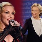 Madonna'dan sıradışı teklif: 'Clinton'a oy verirseniz hepinize oral seks yaparım'