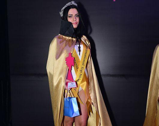 'International Top Model of Cyprus' yarışmasında Gökçe Eygi birinci seçildi