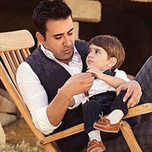 Emrah, oğlu Elyesa'nın ikinci yaşını böyle kutladı