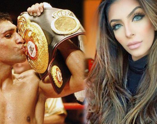 Ünlü boksörün eşine seks kasedi şoku