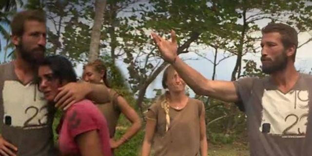 Survivor'da Adem ile Fatih birbirine girdi