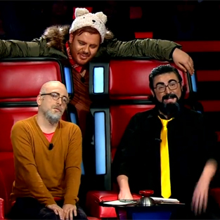 3 Adam'dan O Ses Türkiye skeci