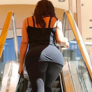 Kim Kardashian kalçasını eritemiyor