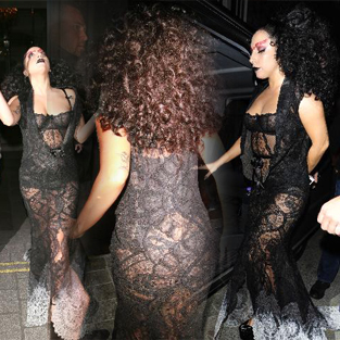 Lady Gaga'nın korku dolu gecesi